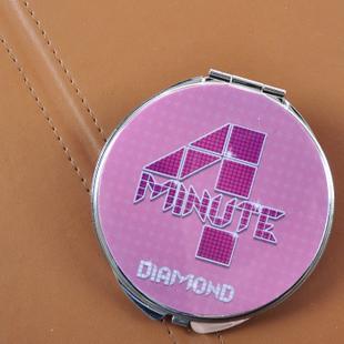 Сувенир со звездами кино и эстрады 4 минуты логотип может быть настроен вокруг коллективного знака зеркало Макияж/Зеркала для бритья на продажу