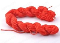 正宗莉斯牌 大红色玉线 DIY手工编织手链项链绳 不掉色