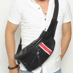 新款男包包邮韩版潮男户外包时尚小包胸包腰包休闲包男士包斜挎包