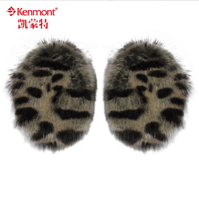 kenmont seamless cute winter warm earmuffs female female mink earmuffs ear package imitation fur earmuffs cover their ears warm