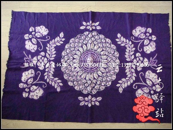 Расписанные изделия Мраморный галстук-краситель ткань/ткань ткань скатерти скатерть чай ткани 159 * 107 см [304#]