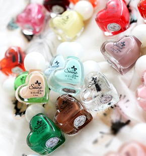Special offer does not fold! sweet heart summer Nail Polish color colorful dizzy color 23