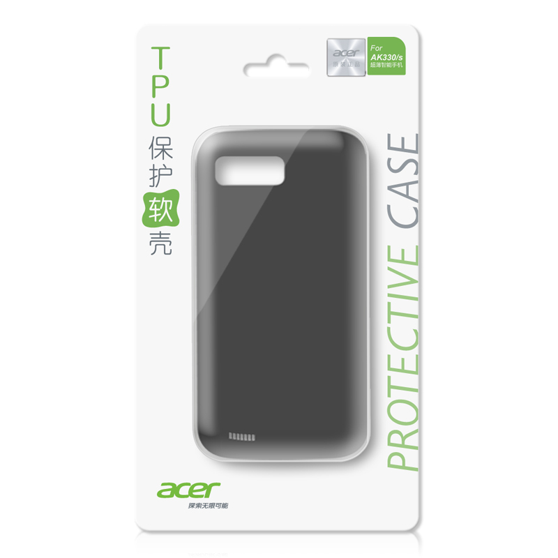 Acer/ Acer AK330/AK330s mobile phone TPU to protect the soft shell (Color classification:Deep blue)