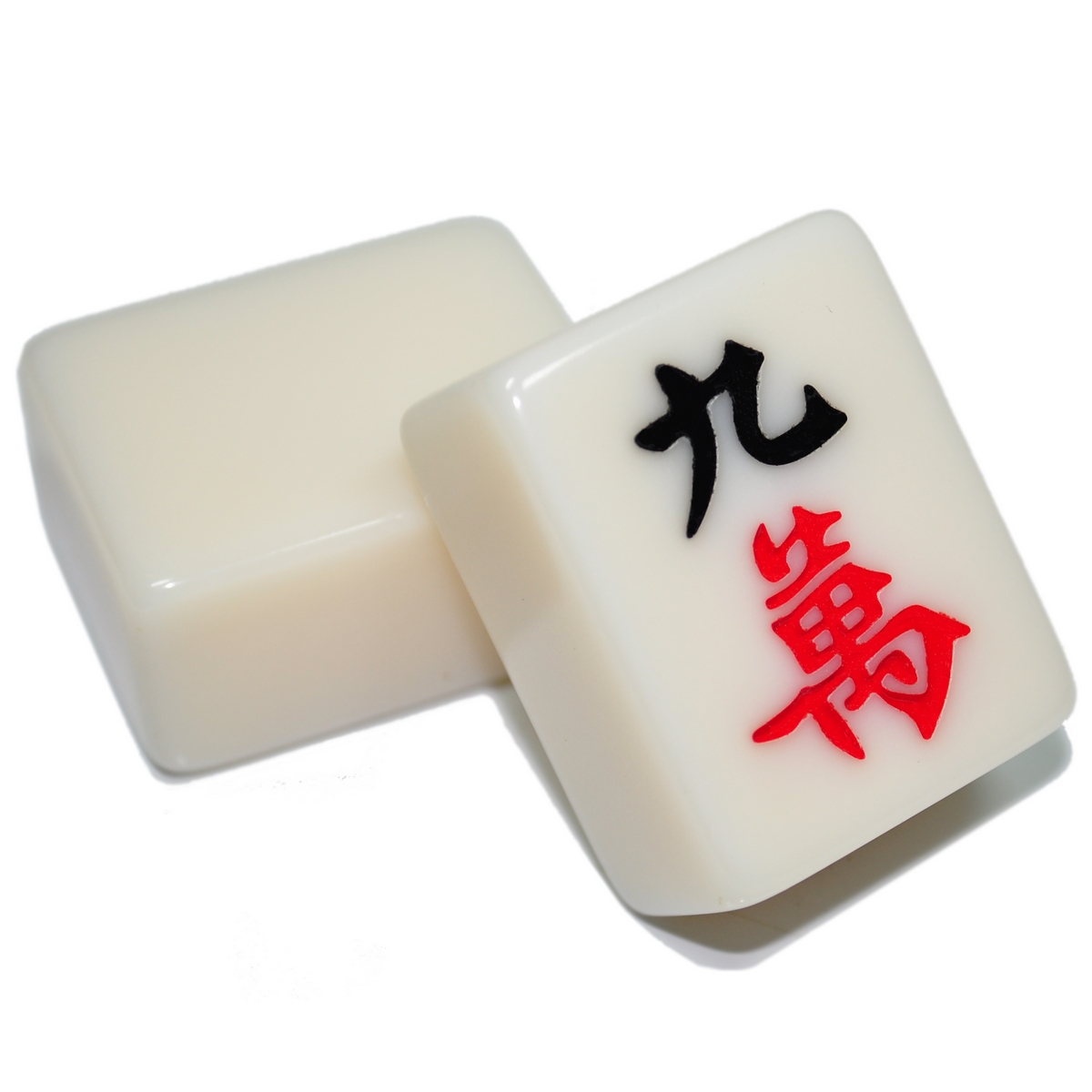 70 percent authentic imitation jade Mahjong 38-42M Crystal Jade provincial  extra large household precision tile