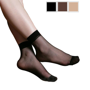 Crystal silk stockings Crystal Crystal Crystal Silk Socks socks romance ~ ultra thin transparent (1-10)