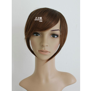 Combs temples slanting fringe hair wig  Japan wig fringe