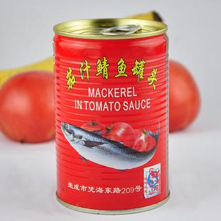 番茄汁鲭鱼罐头