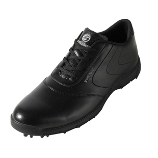Men's Decathlon Golf waterproof without end of nail shoes INESIS black OPEN