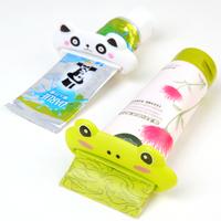创意卡通动物造型挤牙膏器牙膏夹 洗面奶护手霜塑料挤压器