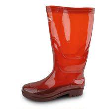 正品上海回力高筒雨鞋男款水鞋雨靴茶色防滑套鞋长筒防水鞋工作鞋图片