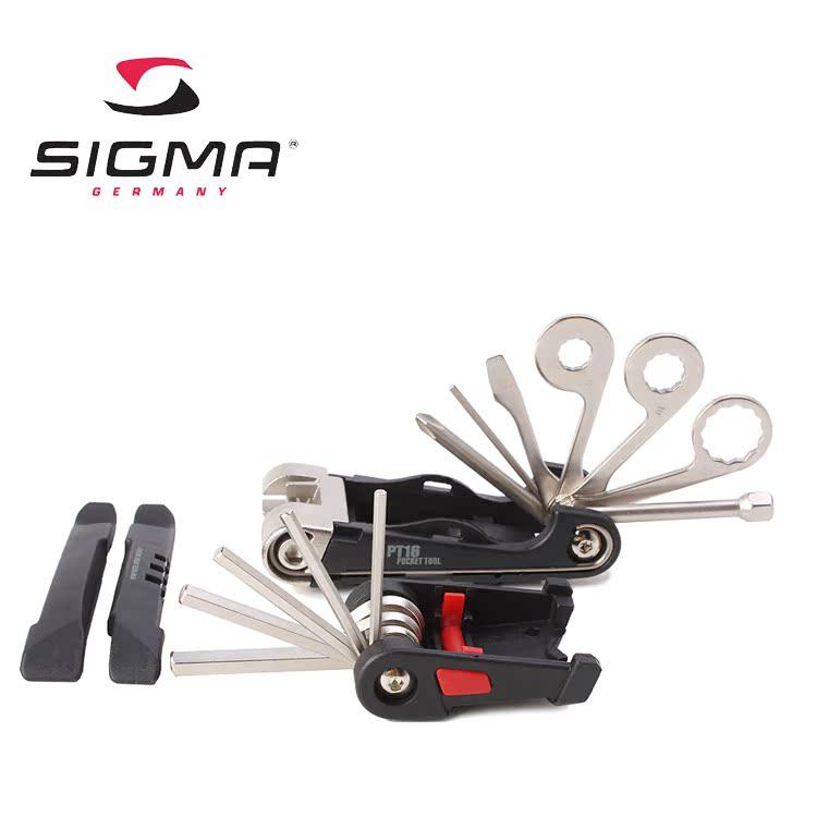 Набор инструментов Pt16 инструмент сочетание подлинных немецких Сигма Сигма pt16 велосипед ящик для инструмента с инструкциями