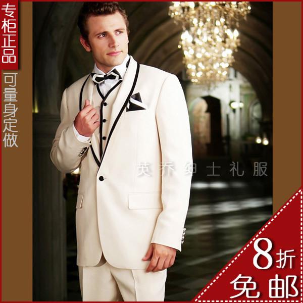 【英乔男士礼服】新郎结婚西服-经典款8折