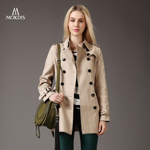 Windbreaker female 2014 new is Europe's long paragraph in spring and autumn in double breasted coat blouse