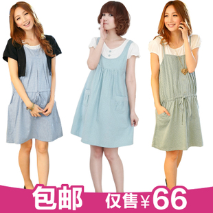 Female Royal maternity dresses of summer Korean fashion women dress on dress pregnant women in pregnant women summer clothes