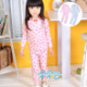 [Baby] Korean pastoral small suihua girls fall clothing suits/long sleeve t-shirt + trousers TT-523