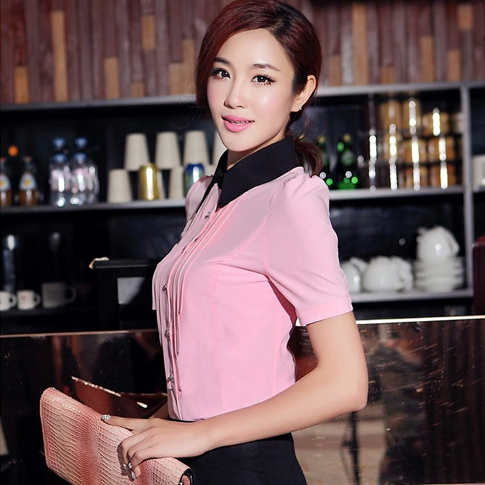 The female dress suits the hotel clothes skirt new summer 2014  OL