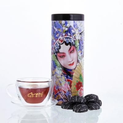 Mr. Hu, hu childe tea series of rebirth Raw pu-erh tea ripe tea 200 g special classic flavour