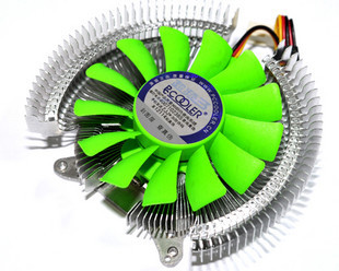 PCCooler Painted bat version 11 graphics radiator GT210 / 220/8600/7300 graphics card fan