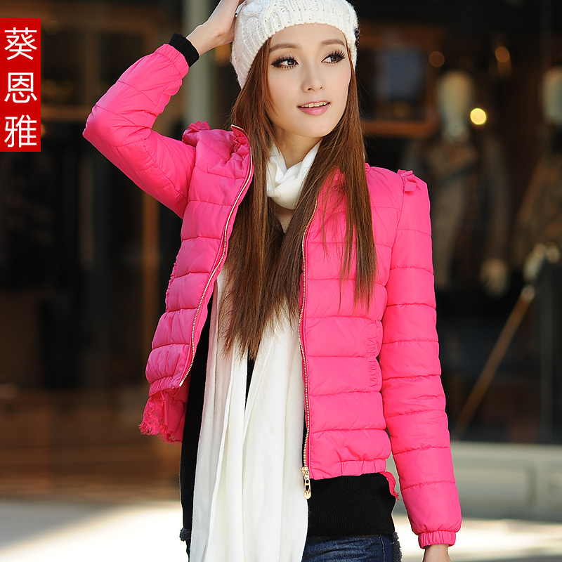 2013 spring new Korean slim thin coat thin coat plus size short women Jacket Women's clothing