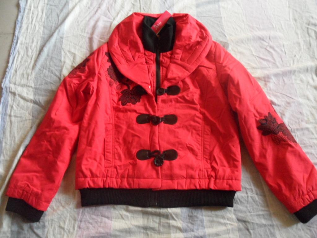 Женская утепленная куртка Liang Network Прямой Длинный рукав