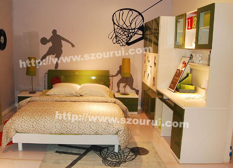 Набор мебели для детской Haney дом мультфильм стиль мебель дети спальня люкс C13