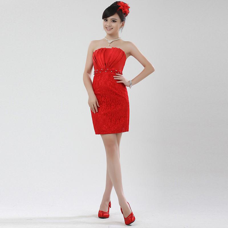 Вечернее платье Month bride 6021 Month bride Средней длины (76-90см)