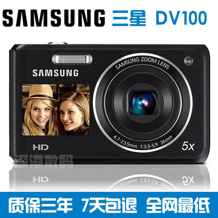 Цифровая камера Samsung DV100 1610 CCD Двойной фильтр Full HD (1920x1080) Оптический стабилизатор изображения