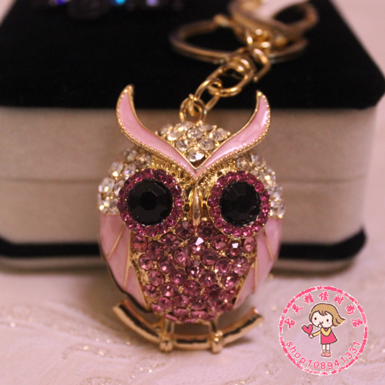 Брелок Korean rhinestones key chain