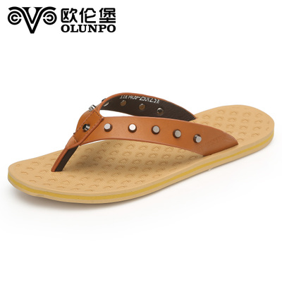 Orem Fort sandals slippers summer male Korean men's shoes slip