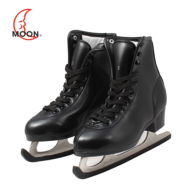 MOON winter skating shoes skate shoe Skate skates adult roller skates for children applies