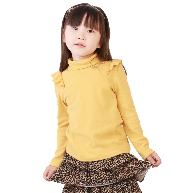 Футболка детская When 13150 2012 米奇丁 when жёлтый цвет , темно-зеленый цвет , розовый цвет повседневный стиль однотонный цвет