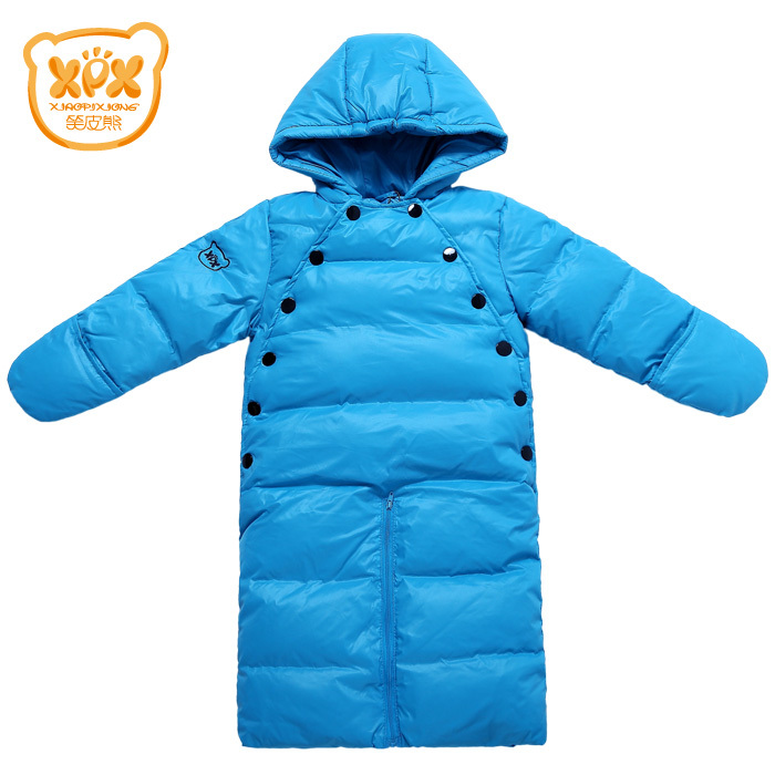 XPX skin baby down jacket jumpsuits 1 to 2 years kids colthing Taobao Agents