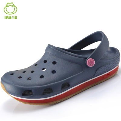 2014 summer new authentic hole shoes sandals slip tendon at the end casual shoes for men and women couple beach sandals and slippers
