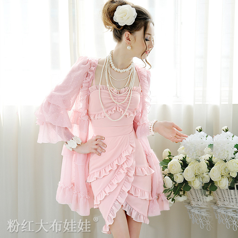 Женское платье Big pink cloth doll s227l 2013 Лето 2012 Разные