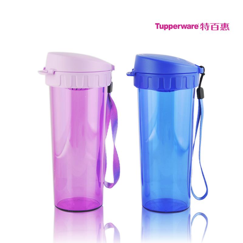 Парные кружки Tupperware CYB Из пластика Стиль минимализм С крышкой, С ситечком для чая, Со шнурком