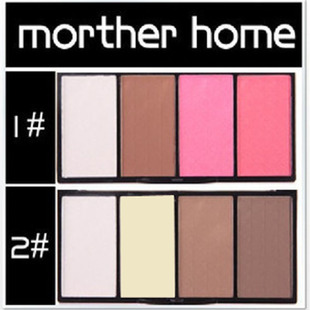 Beautiful recommend Mother home/her mother's four-capacity double-color powder blush cake 24G 9,059