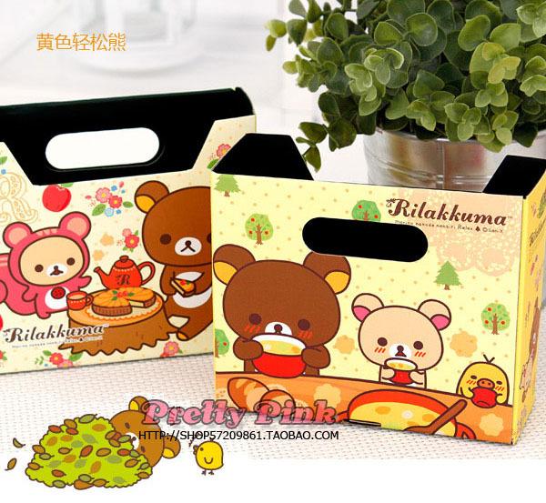 Настольный ящик для канцелярии Japanese and Korean brands  Rilakkuma