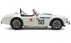Exoto 1:18 眼镜蛇 AC Cobra in Competition 50号 1963年车模型