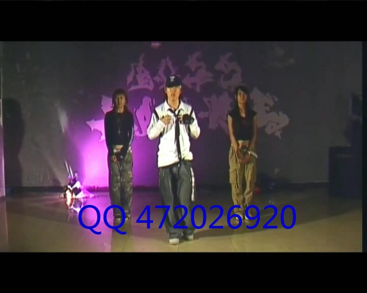 хип-хоп Аксессуары Street Dance in Chinese teaching  Hiphop New Style Dvd