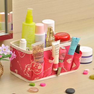 Desktop is satisfied and Happy Valley cosmetic storage box collapsible multi mini magic box 130g