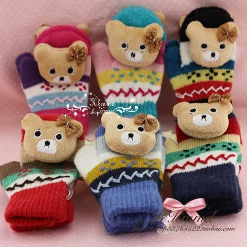Перчатки детские Made in China G53 Унисекс Варежки Другие материалы
