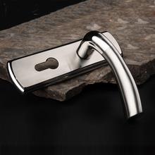 超特价体验 固特5011 不锈钢豪华锁 房 门锁 卫生间锁具 附赠门吸