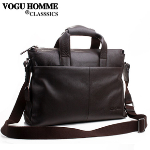 VOGU HOMME spring/summer Vigo leisure business leather men bag retro one shoulder oblique 671