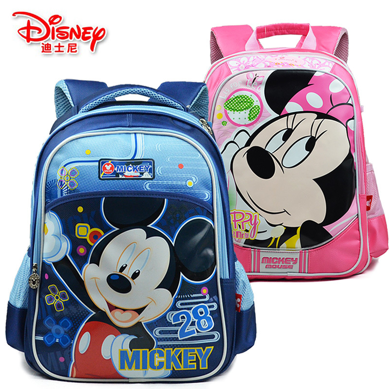 Hotels in authentic Disney Mickey schoolbag schoolchild children Disney cartoon boys