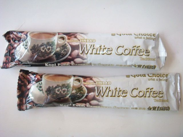 Try to load imported from Malaysia Jin Baobai coffee 40 g/Pack