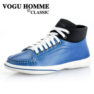 VOGU HOMME spring/summer Vigo new daily leisure men shoes trend of Korean high boots W1070