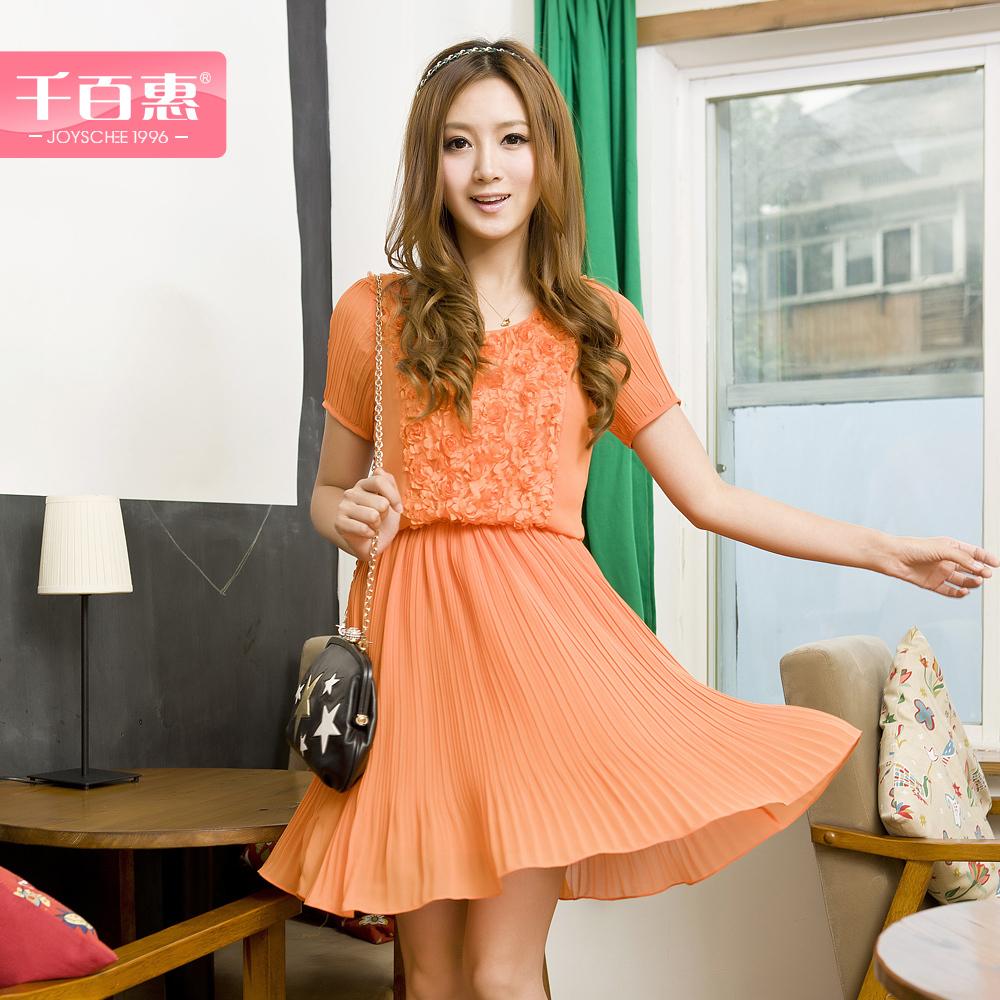 Женское платье JOYSCHEE 22yr053/001 2012 Лето 2012 Шифон