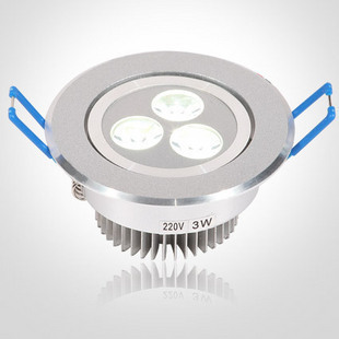 Perindopril 3 watt high power LED ceiling lights (Taiwan chip) precision aluminum lighting lamps 5,068