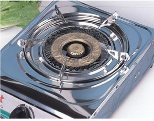 E8244 simple three polymer jinguan gas cooker fire wind energy covers energy networks and energy saving of 30%