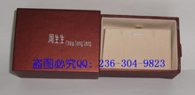 Counters authentic chow sang sang jewelry box packaging earrings earrings box necklace pendant box (small)